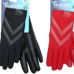 Womens Isotoner smartDRI® Shortie Gloves